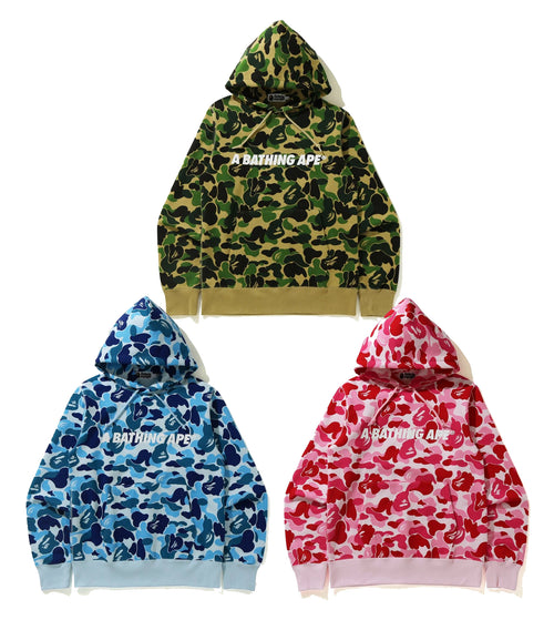 A BATHING APE BIG ABC CAMO PULLOVER HOODIE