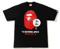 A BATHING APE APE HEAD BEAUTIFUL HARMONY TEE