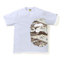 A BATHING APE DESERT CAMO SIDE BIG APE HEAD TEE