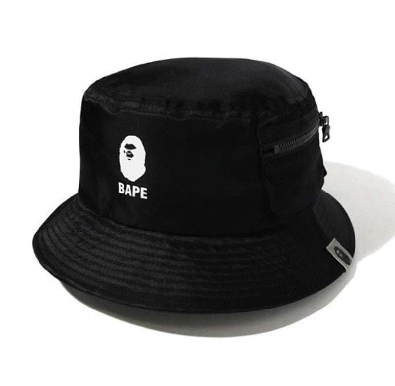A BATHING APE MILITARY POCKET HAT