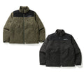 A BATHING APE JACQUARD CAMO DOWN JACKET