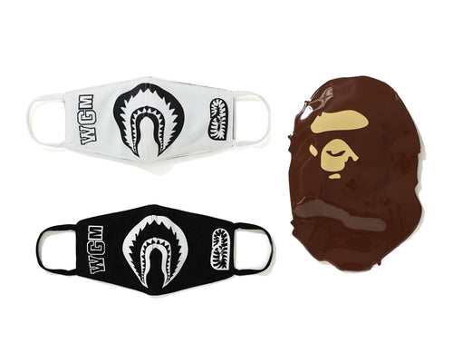 A BATHING APE SHARK MASK