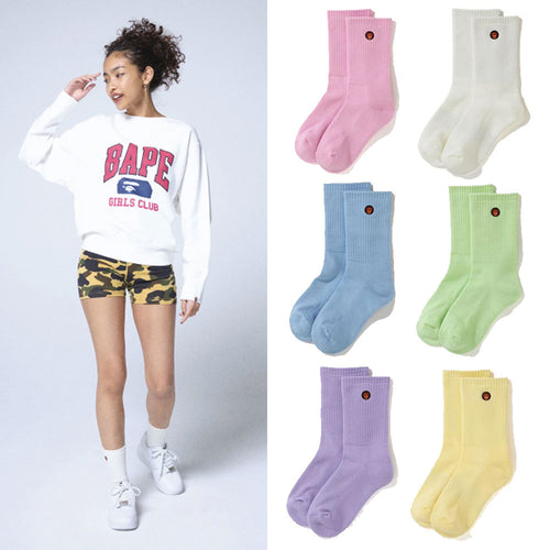A BATHING APE Ladies' BABY MILO SOCKS