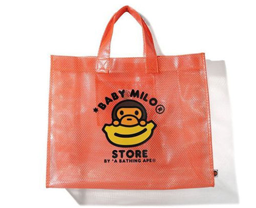 A BATHING APE BABY MILO STORE BABY MILO PVC TOTE