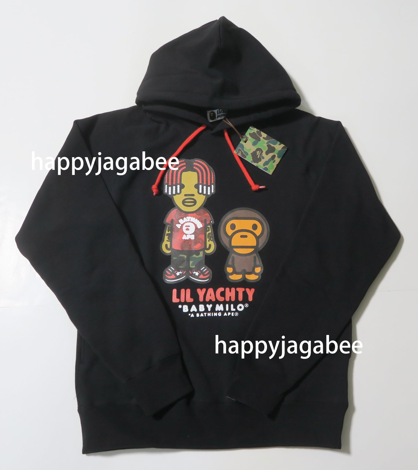 0e83a3d0 ... A BATHING APE BABY MILO x LIL YACHTY PULLOVER HOODIE - happyjagabee  store ...