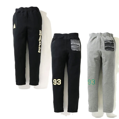 A BATHING APE MILITARY SWEAT PANTS