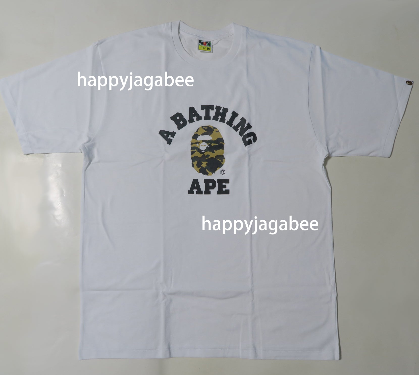 305ff0c0175c A BATHING APE ONLINE EXCLUSIVE 1ST CAMO COLLEGE TEE – happyjagabee store