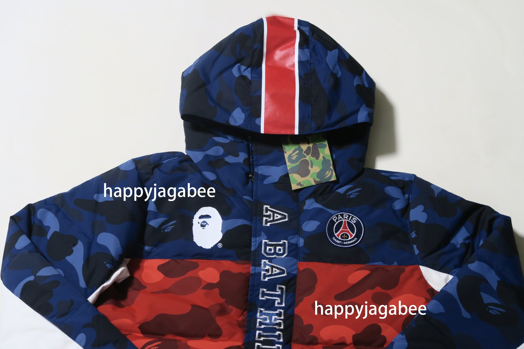 e5246a75 ... A BATHING APE x PARIS SAINT-GERMAIN BAPE x PSG LONG DOWN JACKET ...