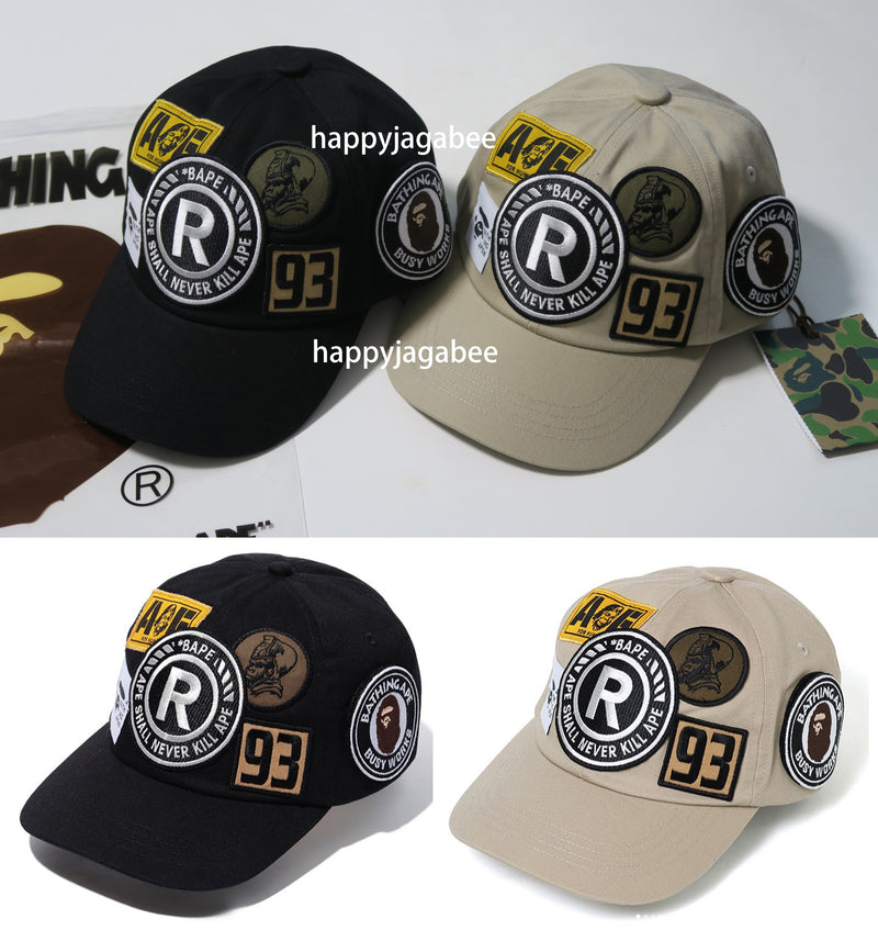 A BATHING APE BAPE PATCH PANEL CAP - happyjagabee store