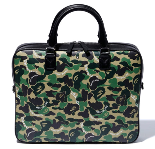 MONTBLANC X BAPE DOCUMENT CASE - happyjagabee store