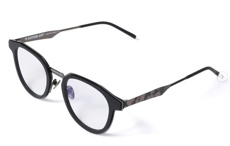 A BATHING APE OPTICAL FRAME 3 Black - happyjagabee store