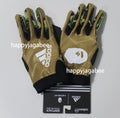 Sale! A BATHING APE adidas & BAPE FOOTBALL COLLECTION GLOOVES BAPE - happyjagabee store