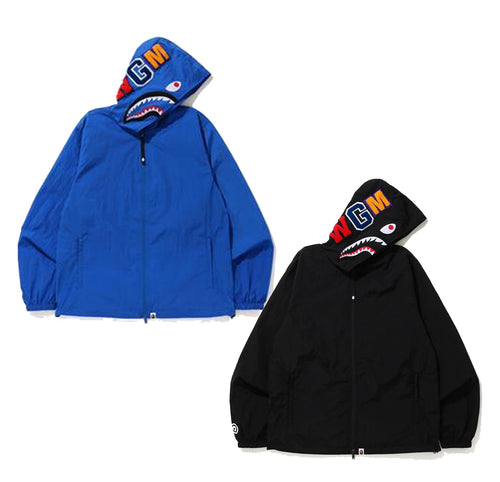 A BATHING APE SHARK HOODIE JACKET