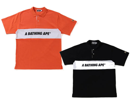A BATHING APE RELAXED POLO