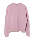 A BATHING APE Ladies' APE HEAD ONE POINT WIDE FIT CREWNECK
