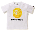 A BATHING APE BAPE KIDS ABC CAMO KIDS APE HEAD TEE