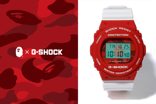 A BATHING APE x G-SHOCK DW-5750 - happyjagabee store