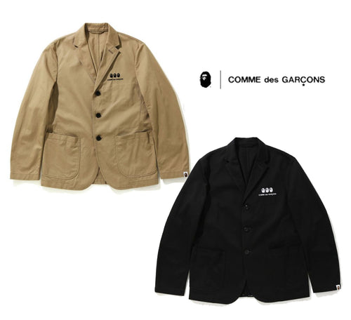 A BATHING APE × COMME des GARCONS CDG OSAKA BAPE TAILORED JACKET
