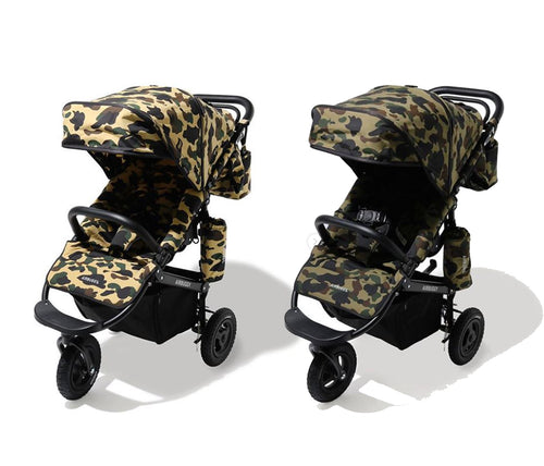 A BATHING APE 1ST CAMO AIR BUGGY STROLLER
