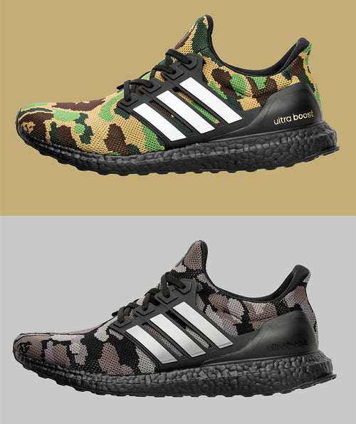 A BATHING APE adidas & BAPE FOOTBALL COLLECTION ULTRABOOST BAPE Ultra Boost - happyjagabee store