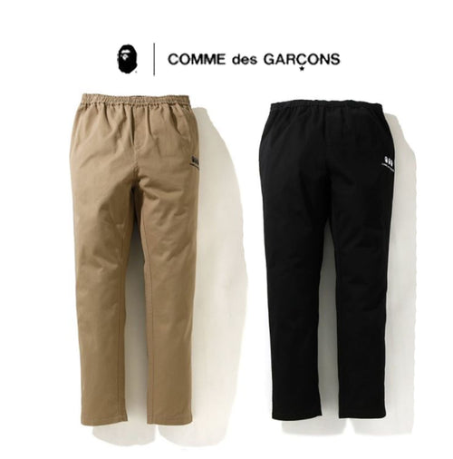 A BATHING APE × COMME des GARCONS CDG OSAKA BAPE TAPERED EASY PANRS