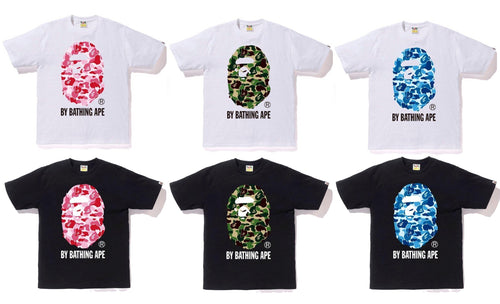 A BATHING APE ABC CAMO BY BATHING TEE - happyjagabee store