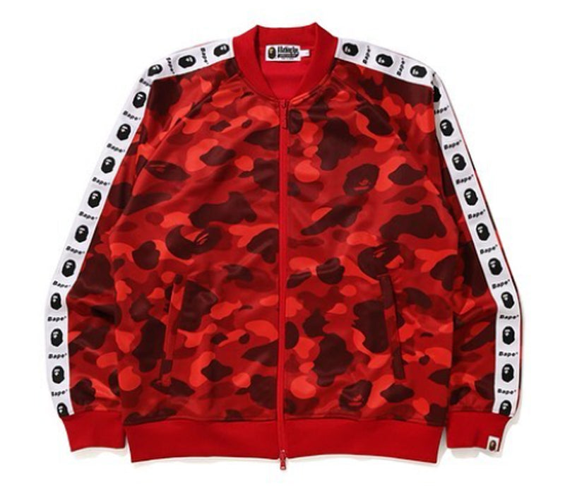 A BATHING APE COLOR CAMO TAPE JERSEY TOP