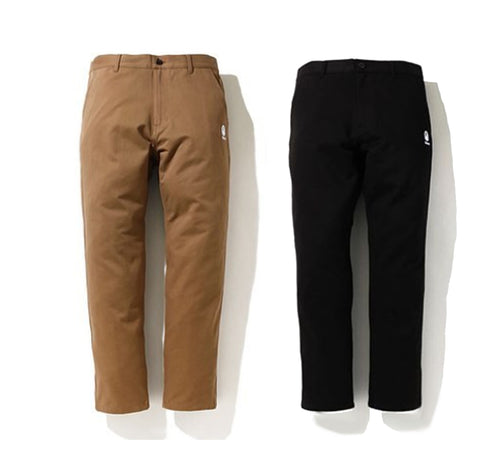 A BATHING APE BAPE CHINO PANTS