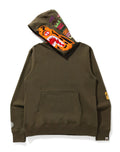 A BATHING APE TIGER WIDE PULLOVER HOODIE