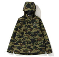 A BATHING APE SPLINTER CAMO MILITARY CAP - happyjagabee store