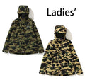 A BATHING APE SPLINTER CAMO MILITARY SHIRT - happyjagabee store