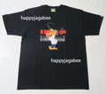 A BATHING APE FISH PARKA COMIC MILO TEE - happyjagabee store