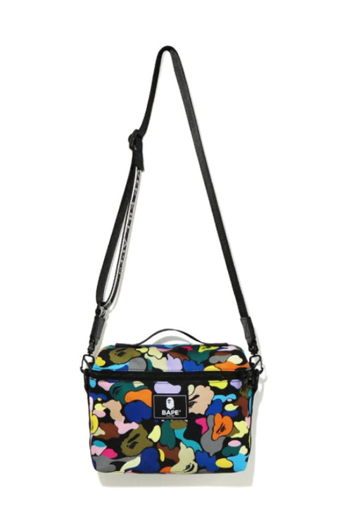 A BATHING APE Ladies' MULTI CAMO MOMS CROSSBODY BAG