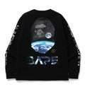 A BATHING APE MID AUTUMN FESTIVAL LONG SLEEVE TEE