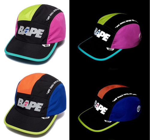 A BATHING APE MULTI COLOR CAP
