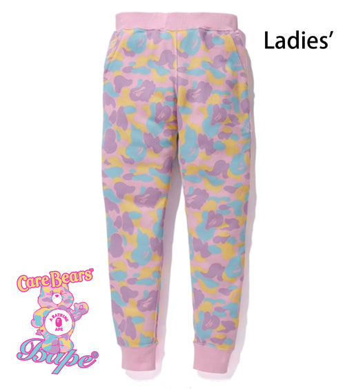 A BATHING APE LADIES' BAPE × CARE BEARS SWEAT PANTS - happyjagabee store