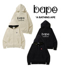 "A BATHING APE ""b"" COLLECTION b PATCH ZIP HOODIE - happyjagabee store"