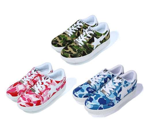 A BATHING APE ABC CAMO BAPE STA LOW - happyjagabee store