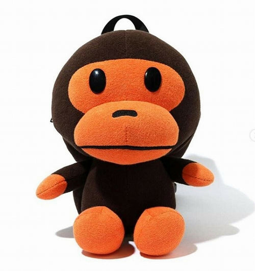 A BATHING APE KIDS BABY MILO PLUSH DOLL DAY PACK BAG - happyjagabee store