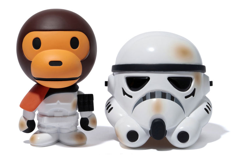 A BATHING APE BABY MILO x STAR WARS VCD SANDTROOPER - happyjagabee store