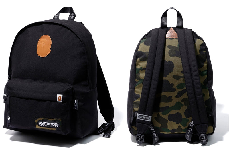 A BATHING APE BAPE × OUTDOOR PRODUCTS DAY PACK - happyjagabee store