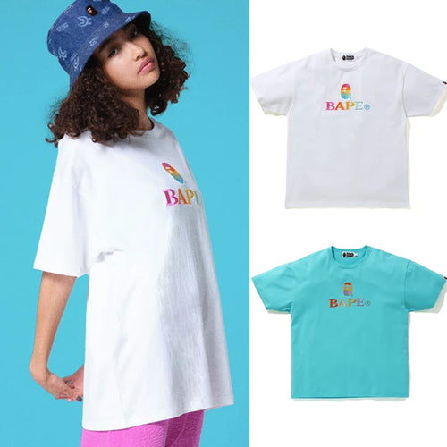 A BATHING APE Ladies' BAPE OVERSIZED TEE