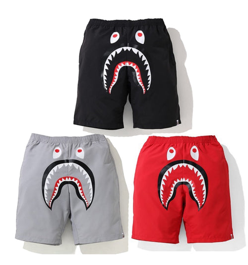 A BATHING APE SHARK BEACH SHORTS