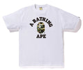 A BATHING APE 1ST CAMO COLLEGE TEE