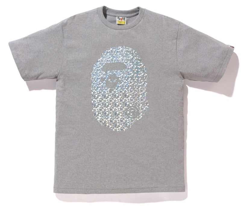 A BATHING APE AURORA BIG APE HEAD TEE - happyjagabee store