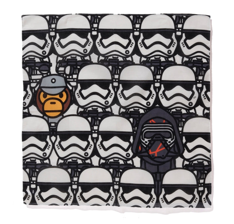 A BATHING APE STAR WARS x BAPE FIRST ORDER BANDANA #2 - happyjagabee store