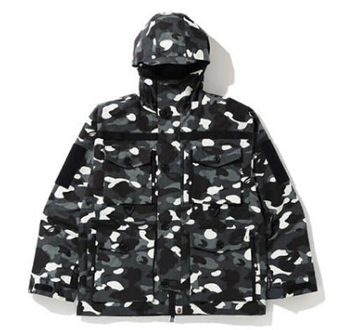 A BATHING APE CITY CAMO MILITARY JACKET