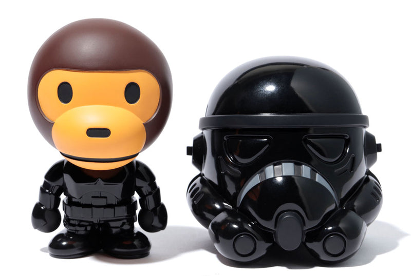 A BATHING APE BABY MILO x STAR WARS VCD STORMTROOPER - happyjagabee store