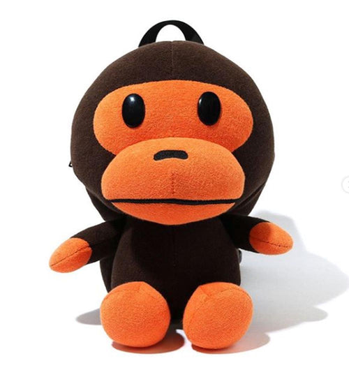 A BATHING APE KIDS BABY MILO PLUSH DOLL DAY PACK - happyjagabee store