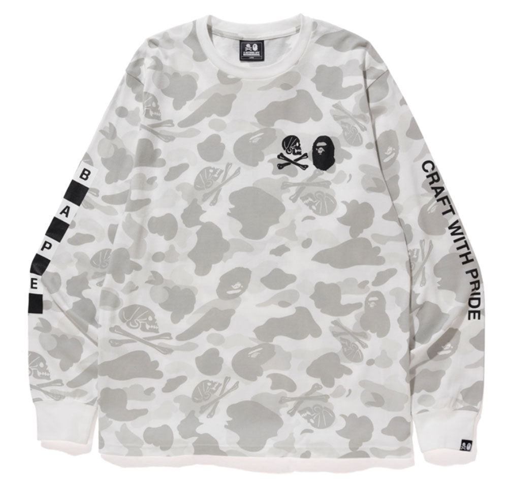 e1296d011585 A BATHING APE x NEIGHBORHOOD BAPE NBHD CAMO L S TEE – happyjagabee store